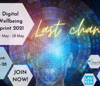 Last chance to enrol in Digital Wellbeing Sprint. Join by 28.3.